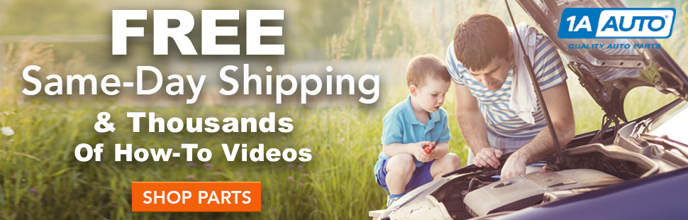 Free Same-Day Shipping & Thousands of How-to videos at 1A Auto